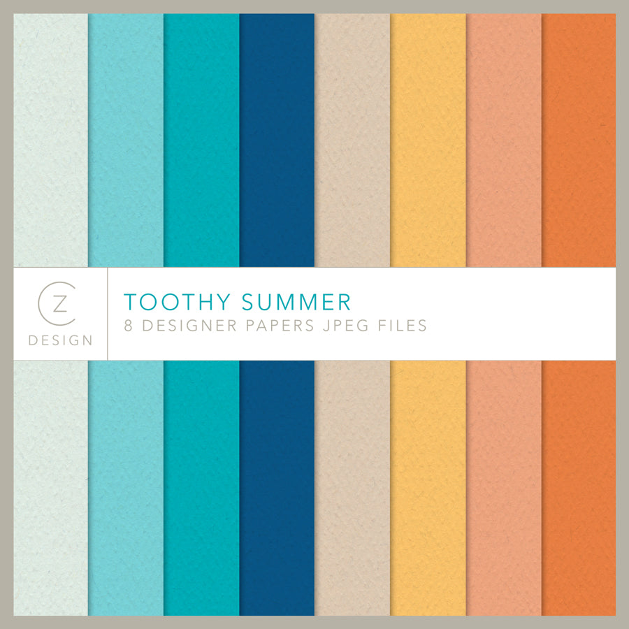 Toothy Summer Paper Pack