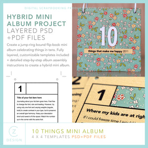 10 Things Mini Album Set