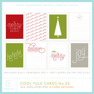 Cool Yule Cards 05