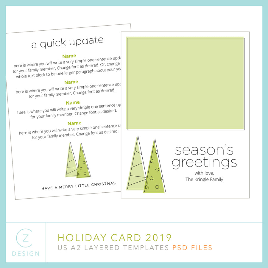 Holiday Cards + News 2019