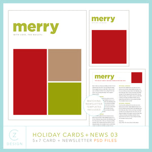 Holiday Cards + News 03