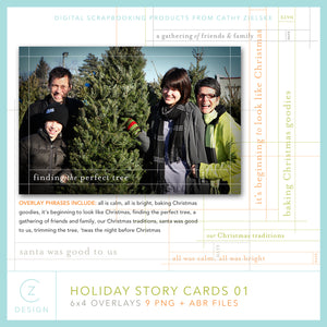 Holiday Story Cards 01