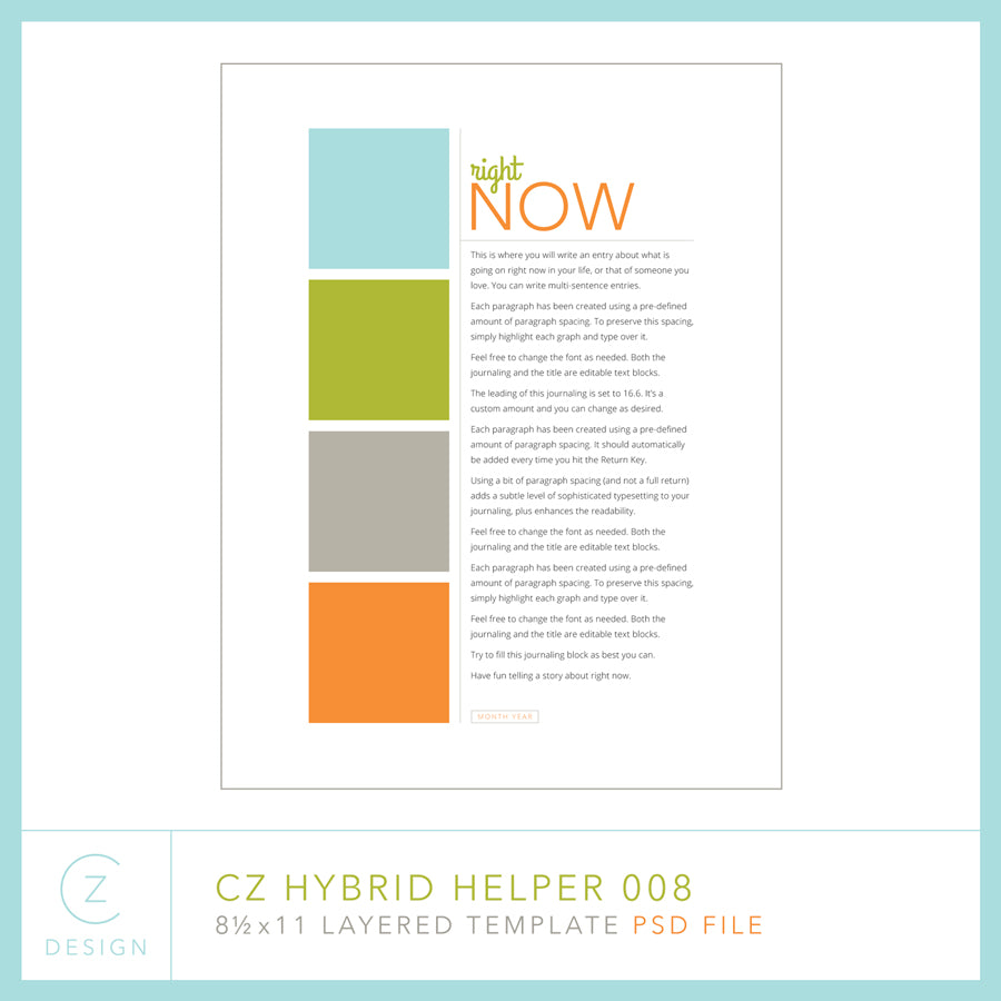 Hybrid Helper Template 008