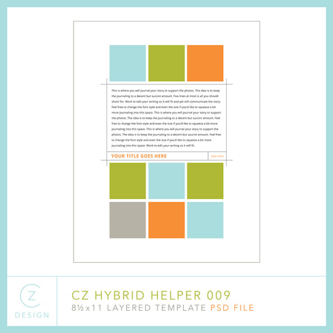 Hybrid Helper Template 009
