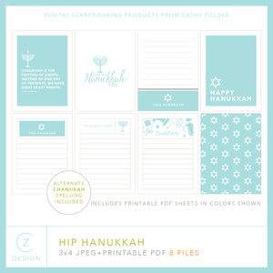 Hip Hanukkah Cards