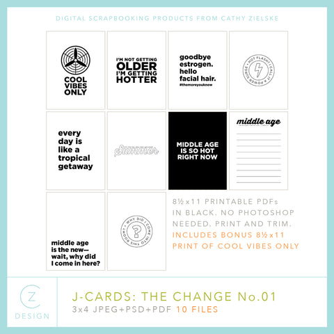 J-Cards: The Change 01