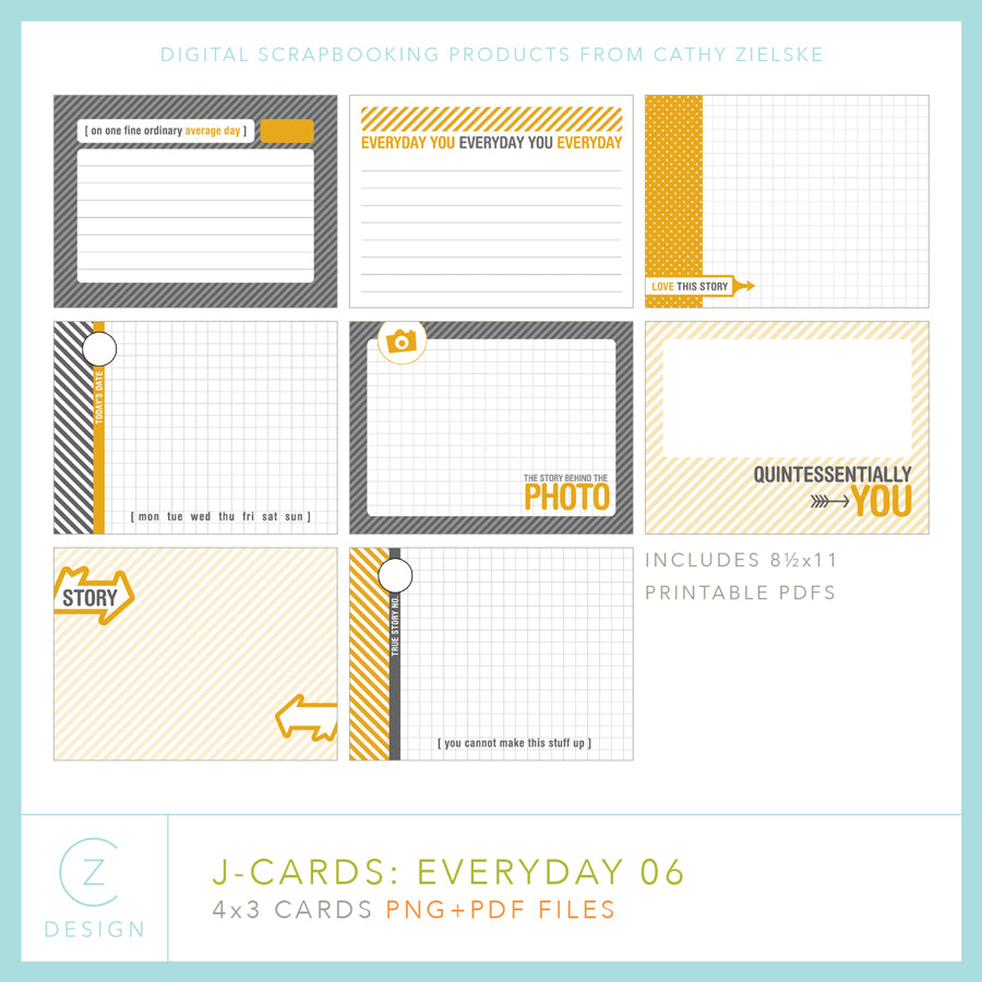 J-Cards: Everyday 06