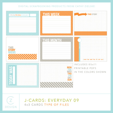 J-Cards: Everyday 09