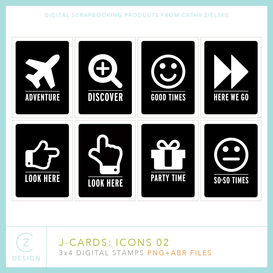 J-Cards: Icons 02
