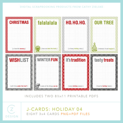 J-Cards: Holiday 04