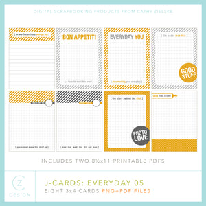 J-Cards: Everyday 05