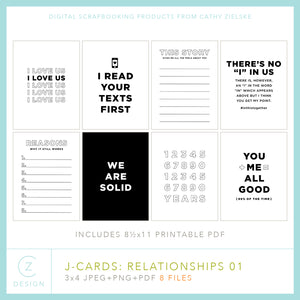 J-Cards: Relationships 01