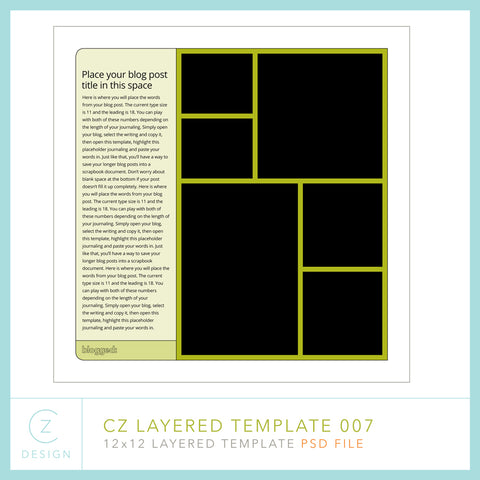 CZ Layered Template 007