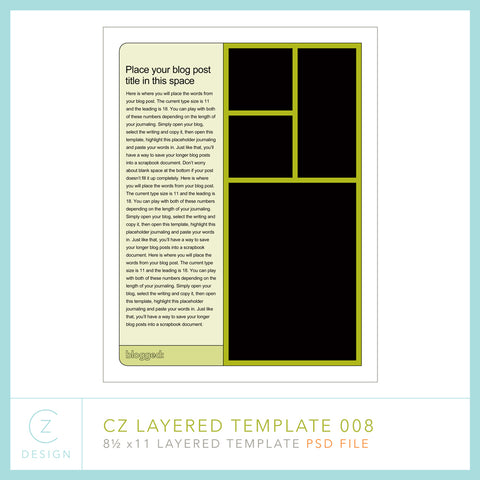 CZ Layered Template 008