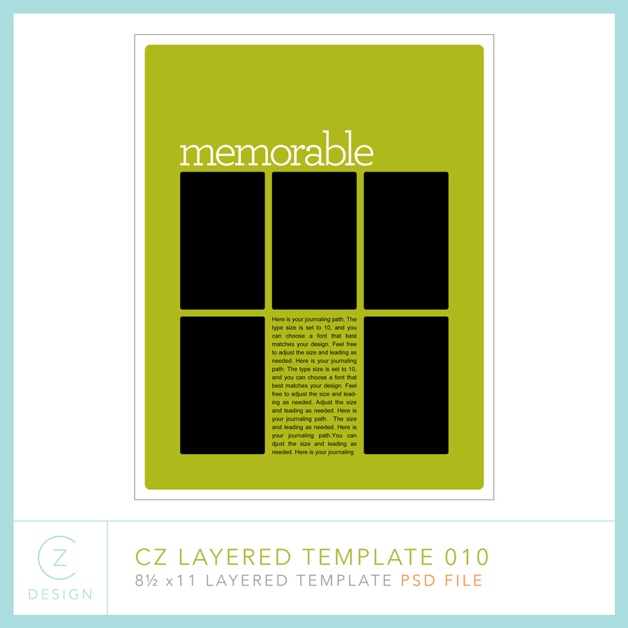 CZ Layered Template 010