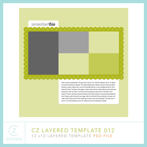 CZ Layered Template 012