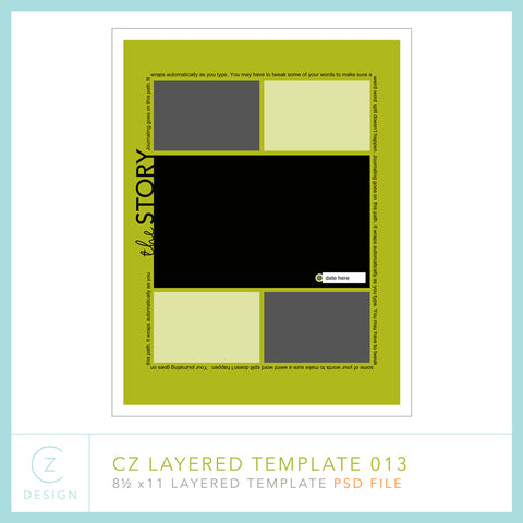CZ Layered Template 013