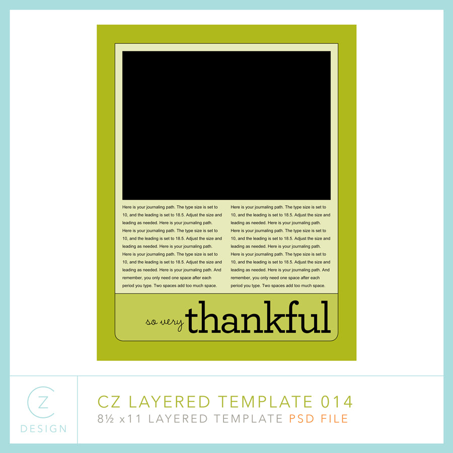 CZ Layered Template 014