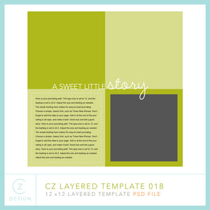 CZ Layered Template 018