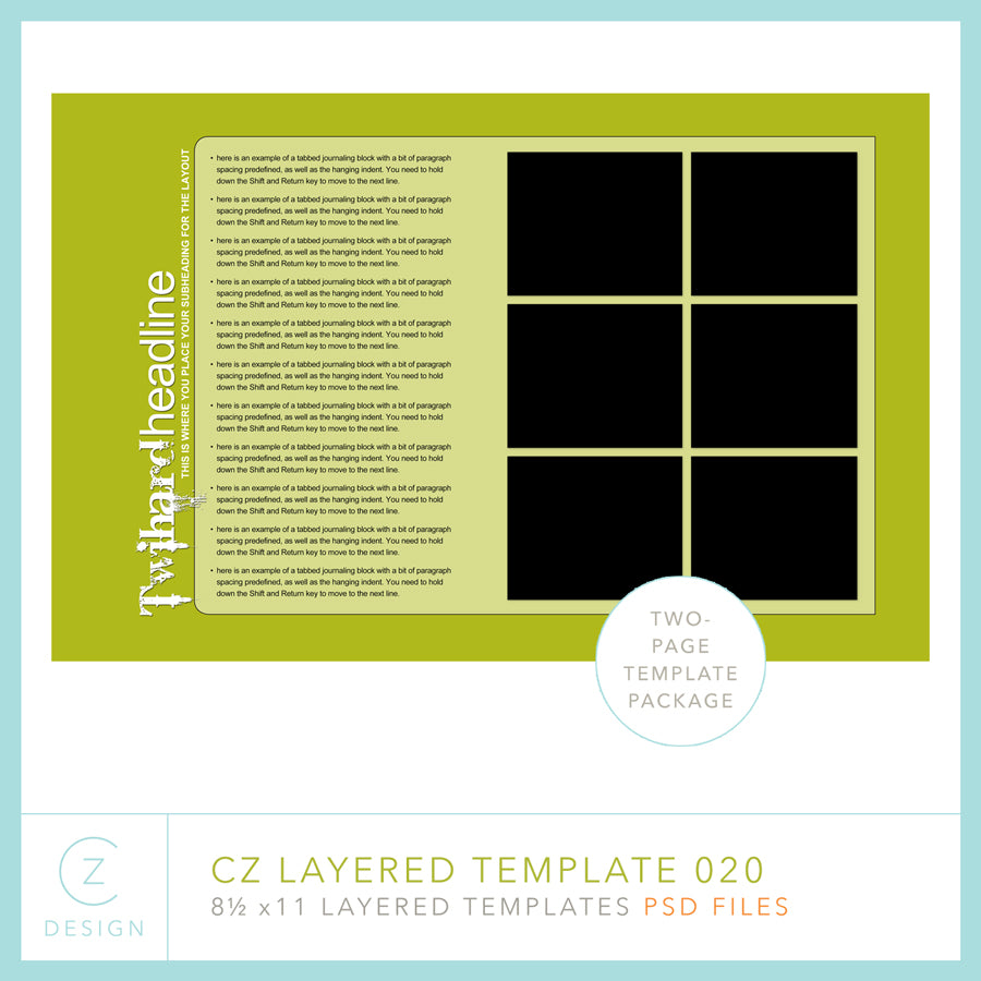 CZ Layered Template 020