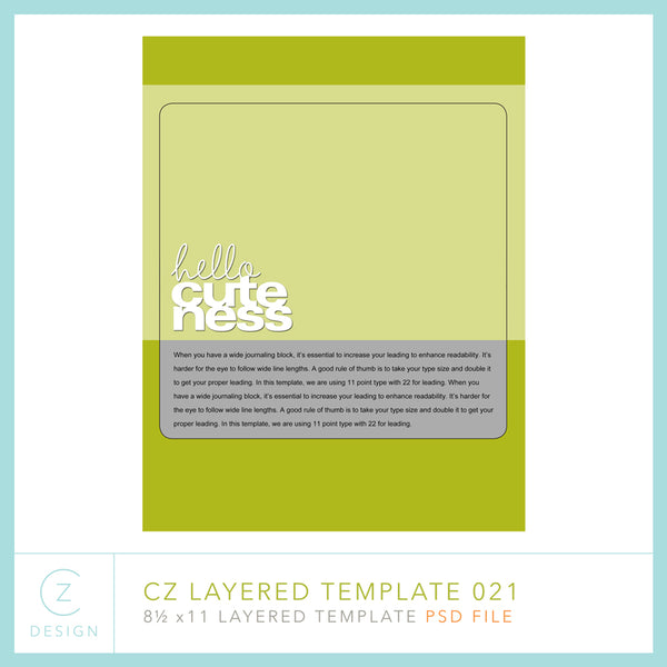 CZ Layered Template 021