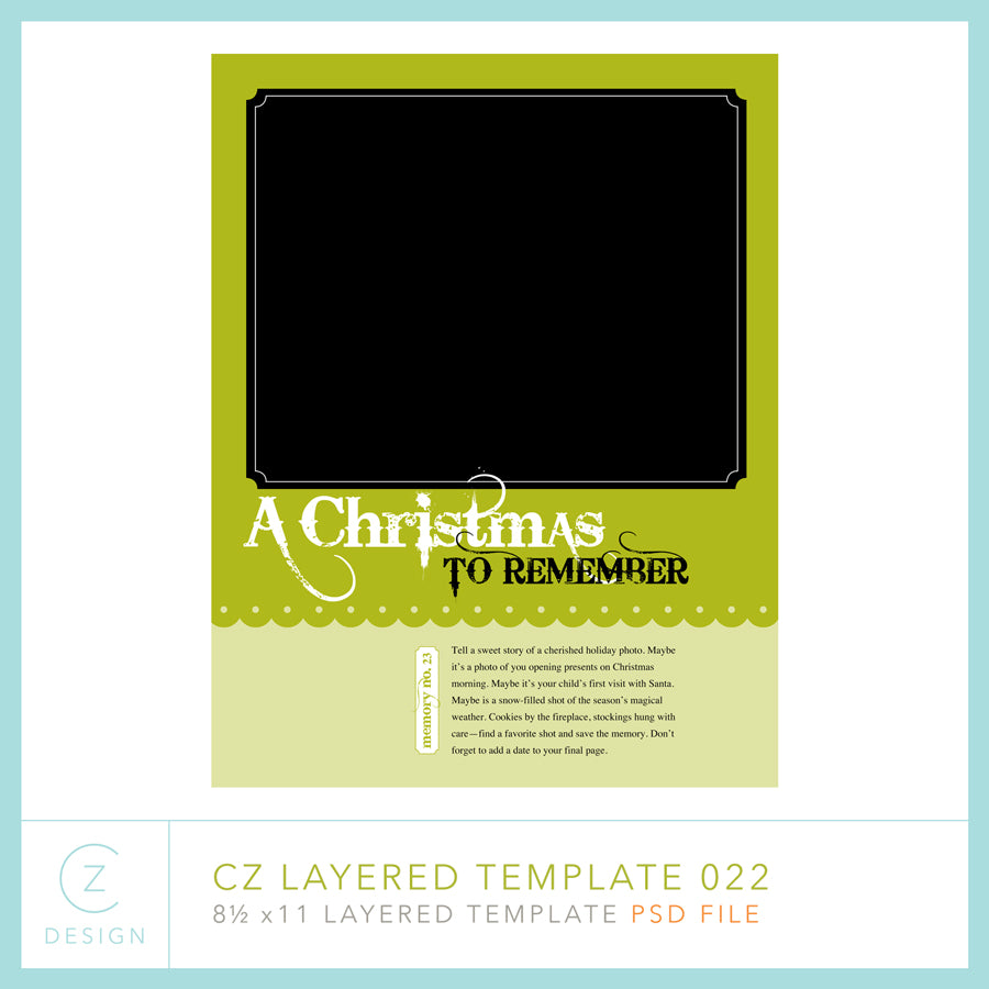CZ Layered Template 022