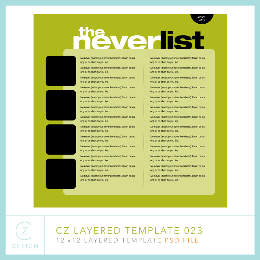 CZ Layered Template 023