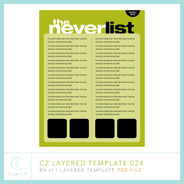 CZ Layered Template 024