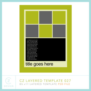 CZ Layered Template 027