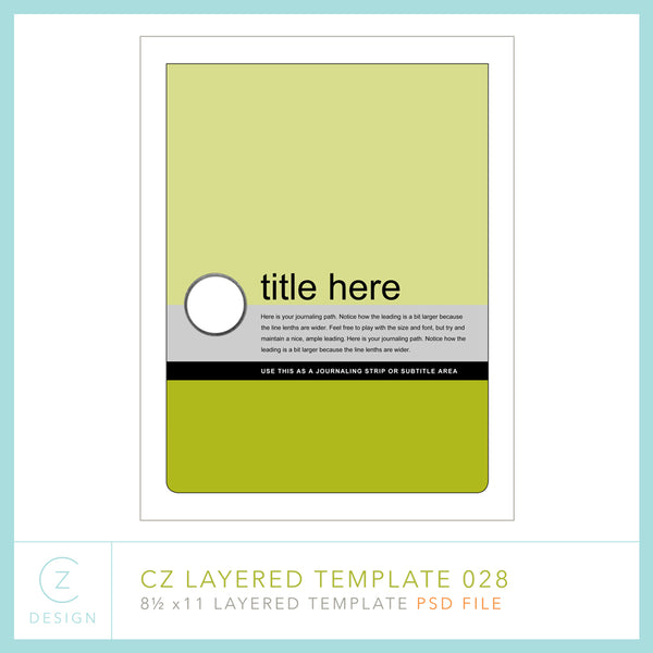 CZ Layered Template 028