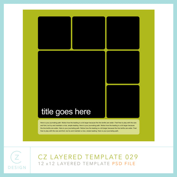 CZ Layered Template 029