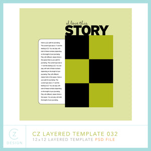 CZ Layered Template 032
