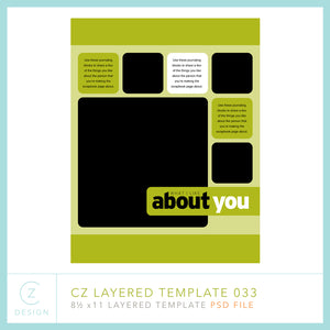 CZ Layered Template 033