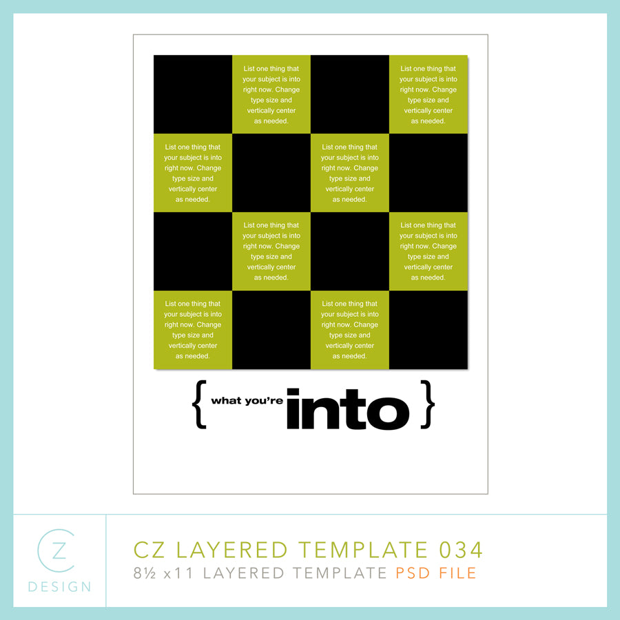 CZ Layered Template 034