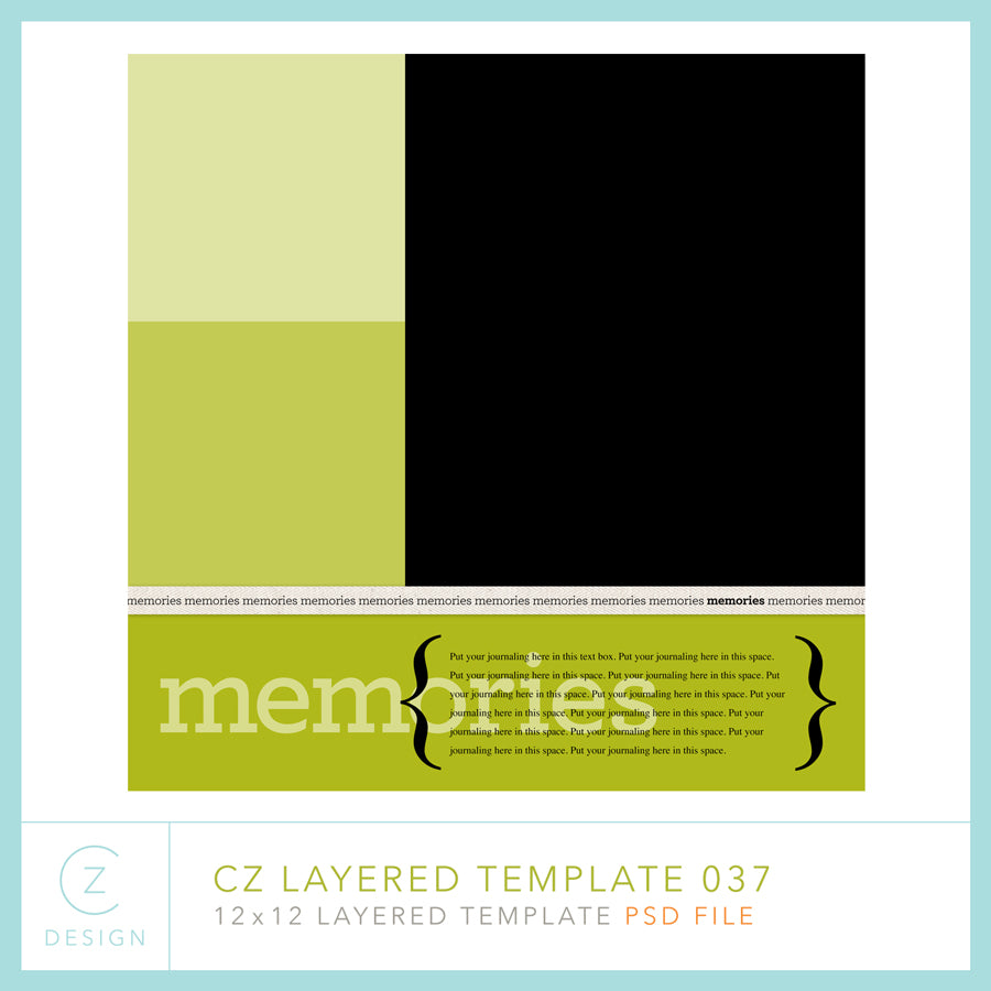 CZ Layered Template 037