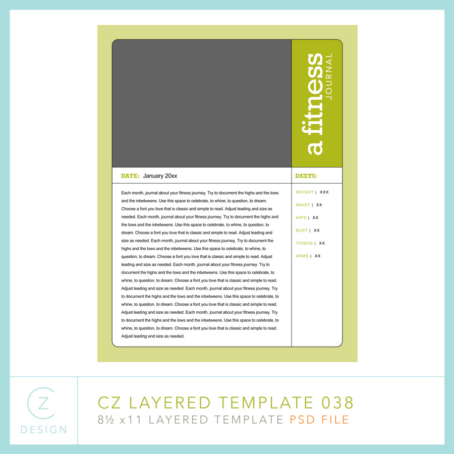 CZ Layered Template 038