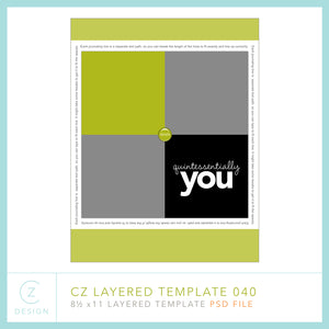 CZ Layered Template 040