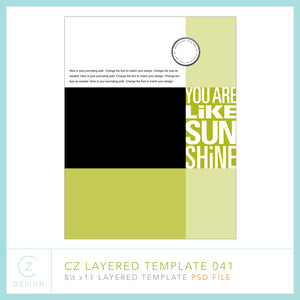 CZ Layered Template 041