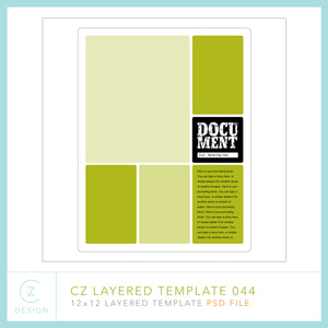 CZ Layered Template 044