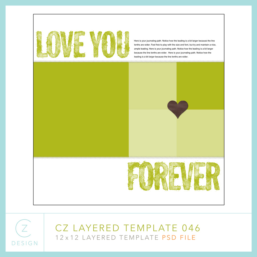 CZ Layered Template 046
