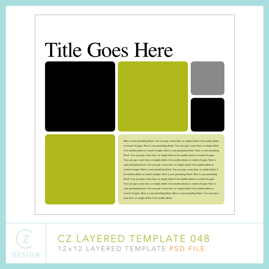 CZ Layered Template 048