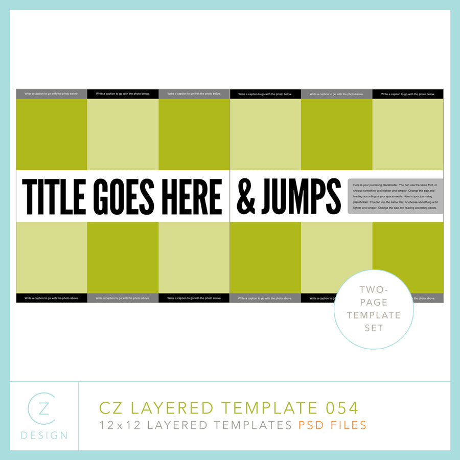 CZ Layered Template 054