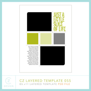 CZ Layered Template 055