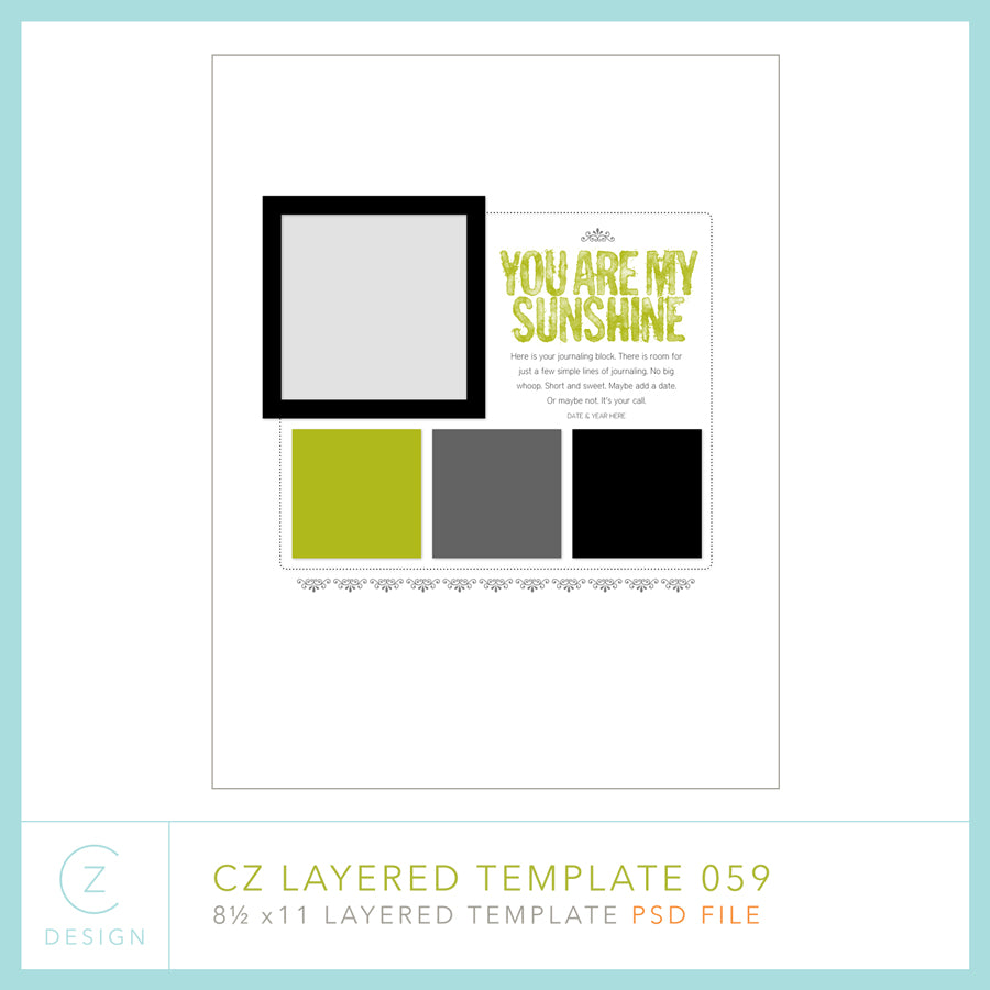 CZ Layered Template 059