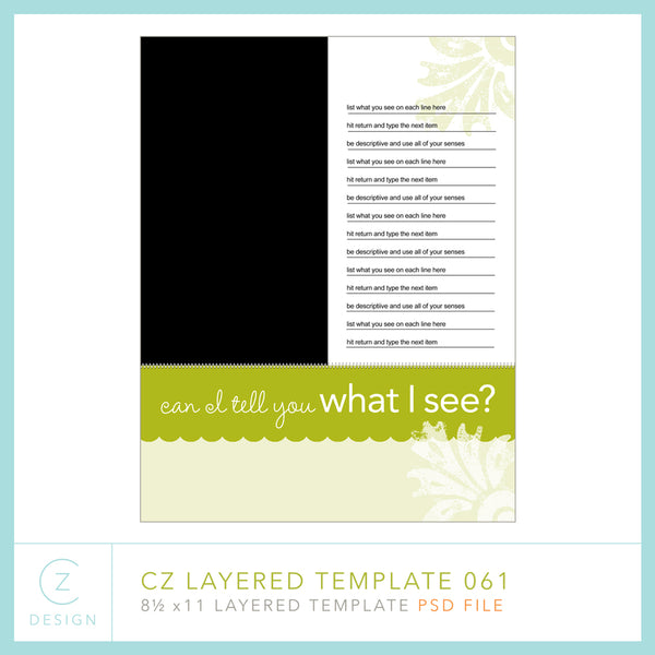 CZ Layered Template 061