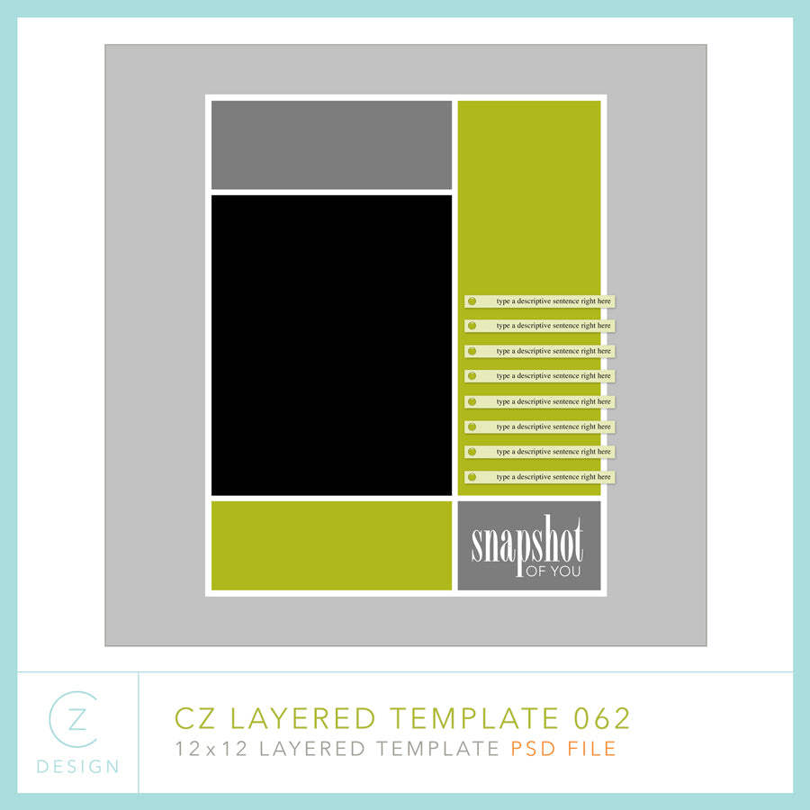 CZ Layered Template 062