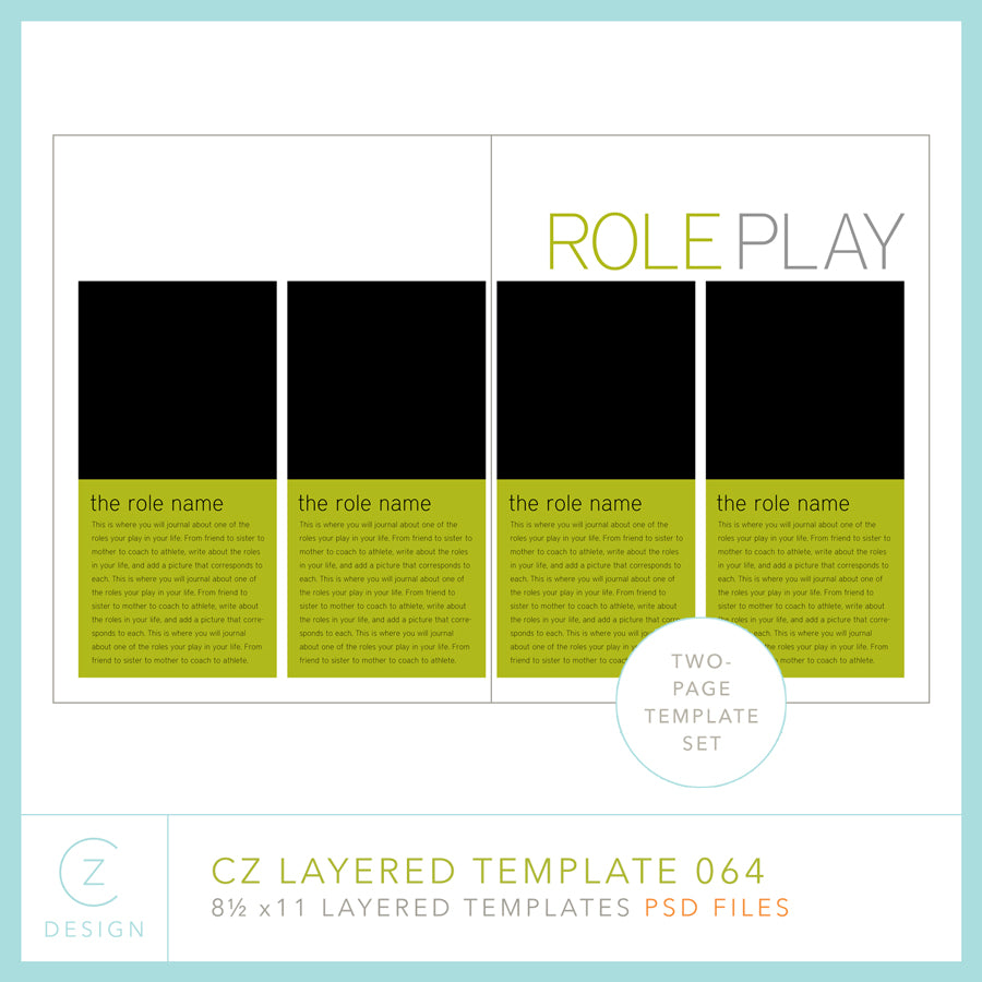 CZ Layered Template 064