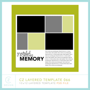 CZ Layered Template 066