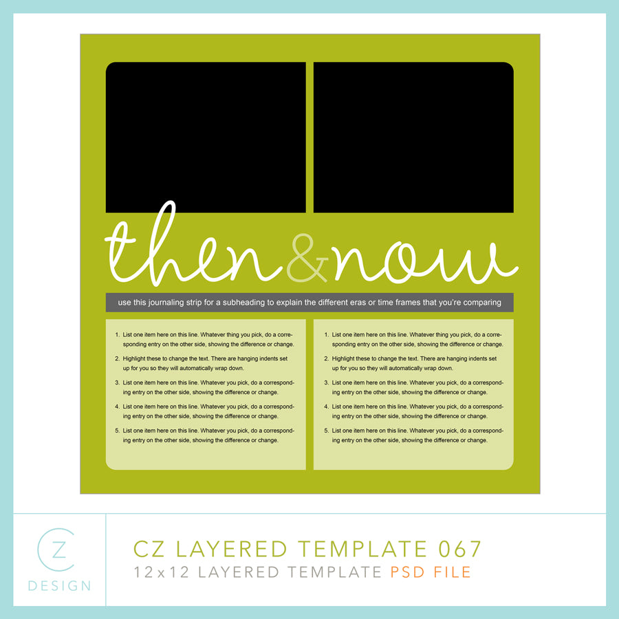 CZ Layered Template 067