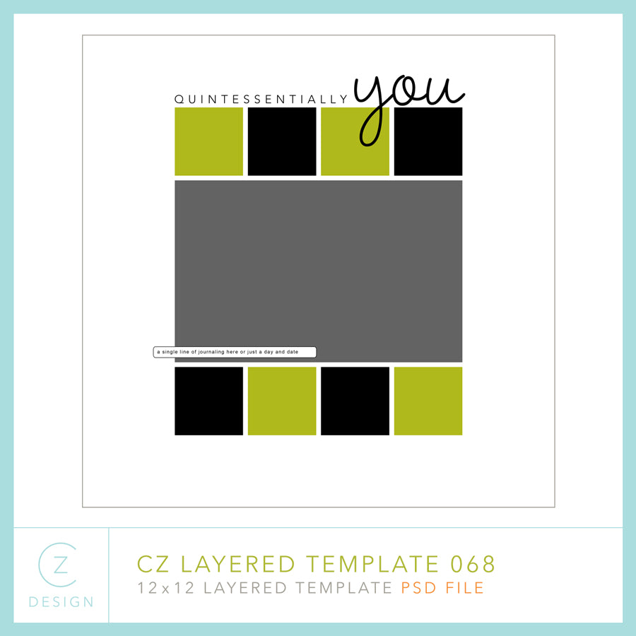 CZ Layered Template 068